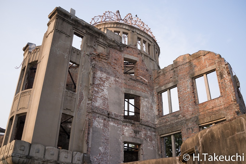 写真日記-原爆ドーム(2015年8月2日,DSC-RX1R)